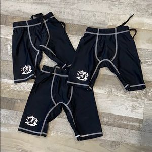 Boys Sunspecs Rash Guard Swim Shorts